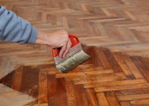 Aufbereitung von Fußböden