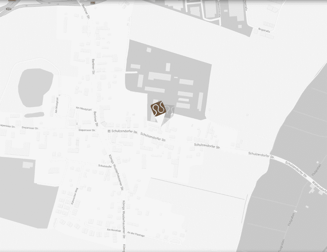 Landkarte von Domke Parkett GmbH in Berlin