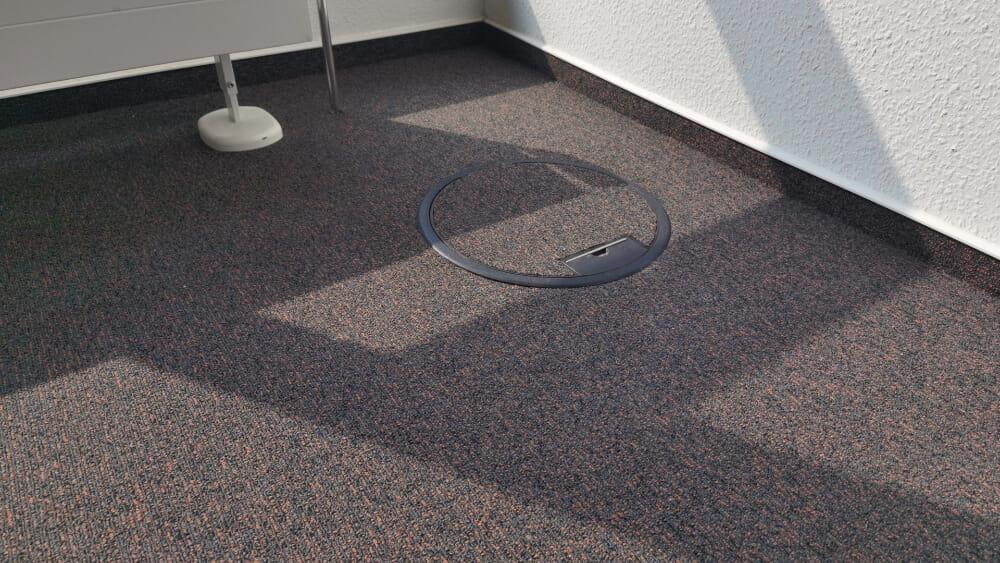 Teppich Elektrotankdeckel