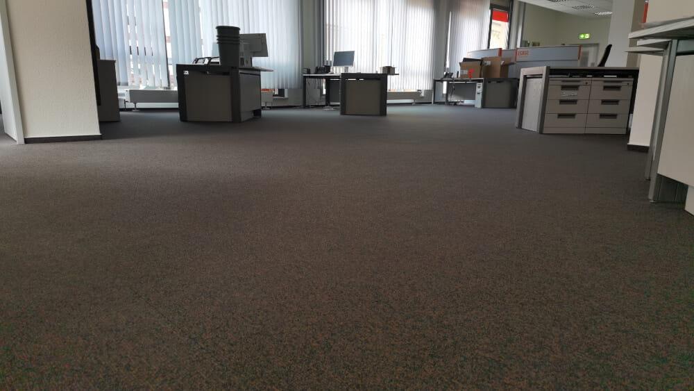 Teppich Großraumbüro